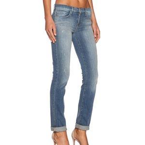 Revolve J Brand Jude Mid Rise Skinny Jeans